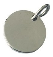 pulsera rolo con dije nena o nene y dije grabado plata 925