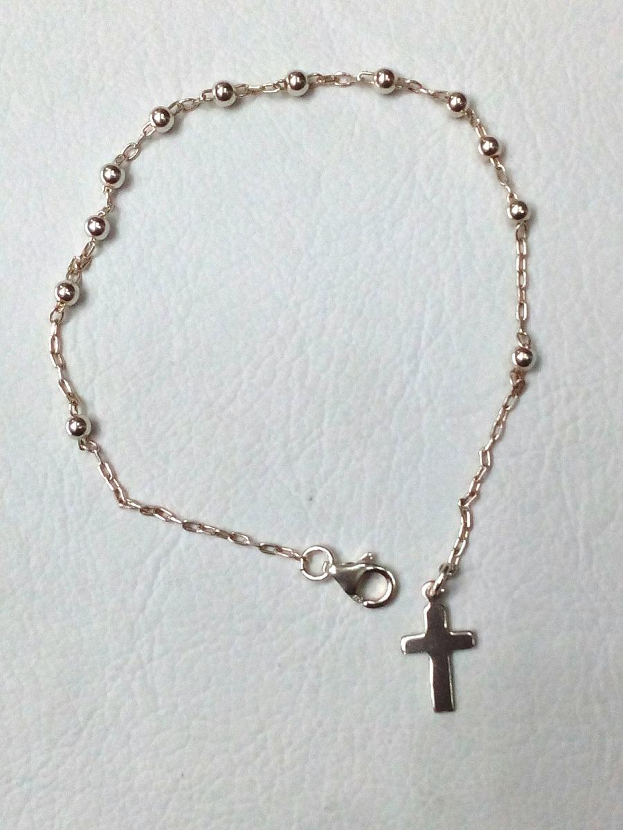 2db7f66d650b pulsera rosario denario de plata 925. Cargando zoom.