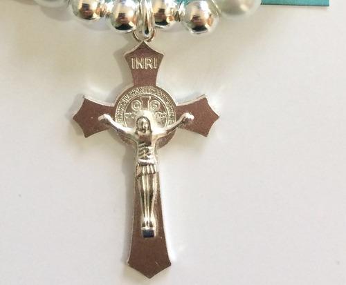 pulsera rosario recuerdo primera comunión confirmación