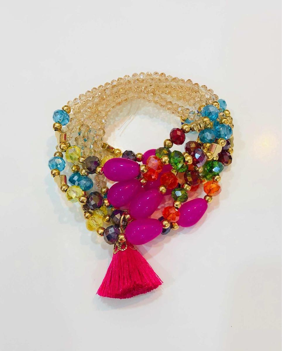 9fdaaf8f264e pulsera semanario multicolor accesorios moda dama bisutería. Cargando zoom.