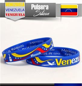 403a854632e9 Pulsera Silicon Venezuela Tricolor Importada (4 Unidades )