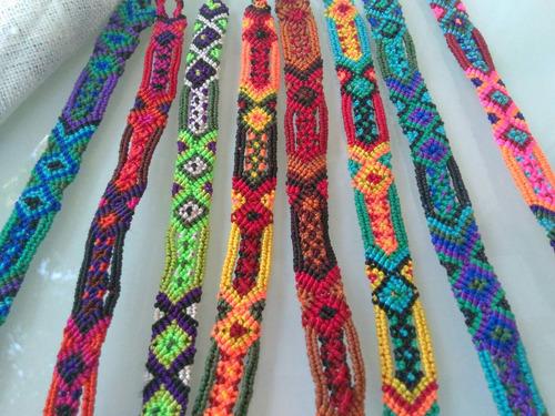 pulsera tejidas de guatemala hilo encerado artesanales