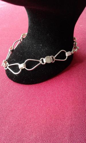pulsera tipo esclava de plata 9.50 para mujer