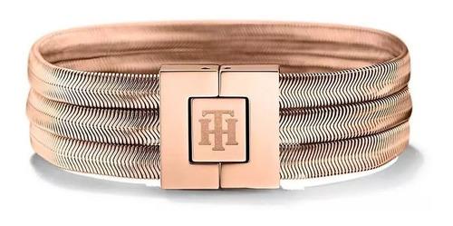pulsera tommy hilfiger acero 2700977 | original envío gratis