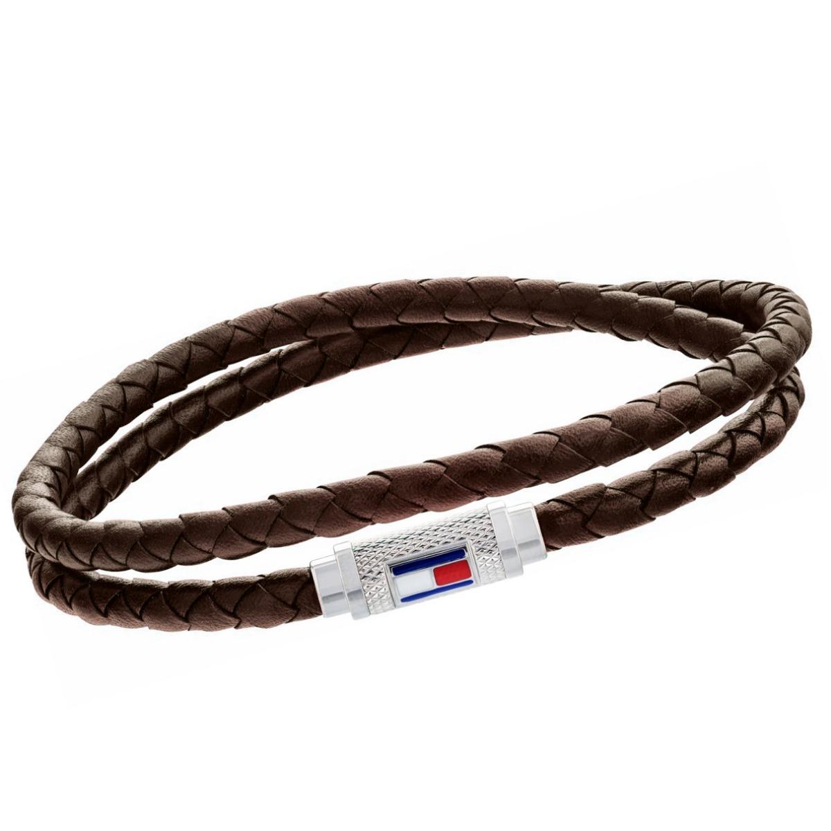 venta caliente online 01abc f862d Pulsera Tommy Hilfiger Th 2790012 Hombre Cuero Trenzado