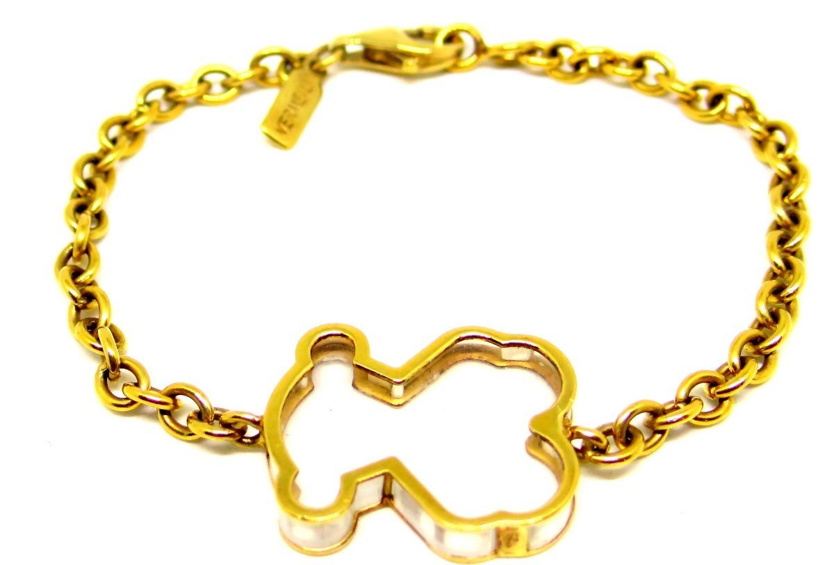 785ad7994da2 Pulsera Tous Original Vermeil Plata Fina Baño Oro 18k $2700 - $ 2,700.00