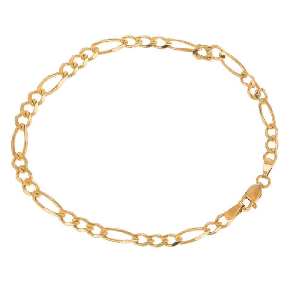 b01b5ec62f04 pulsera tres eslabones por uno en oro amarillo. - 120615135. Cargando zoom.