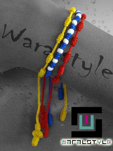 pulsera tricolor decenario!!!