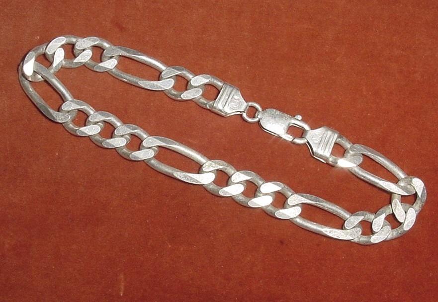 955f39dca pulsera unisex plata 925 firmada italy joya italiana grumet. Cargando zoom.