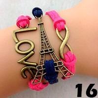 pulsera vintage multicolor