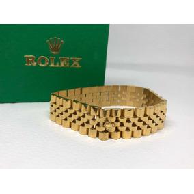 004ed7b0d6b2 Pulsera Tejido Rolex Oro Goldfilled Ndd - Joyas y Relojes en Mercado ...