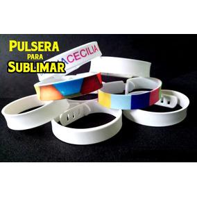 b16c882599a6 Pulseras De Hilo Con Placa Para Sublimar en Mercado Libre México