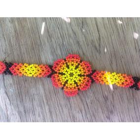 839163516525 Pulsera De Flores De Chaquira en Mercado Libre México