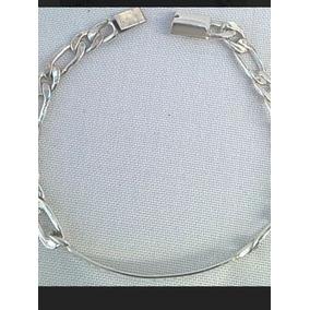 1dca9b5e1865 Esclavas De Plata Para Hombre Grabadas Sin Piedras - Joyería en ...