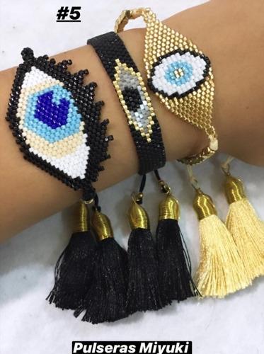 pulseras a la moda miyuki