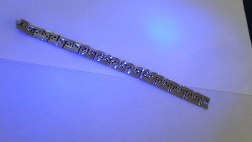 pulseras acero inoxidable bellas esclavas caballero phiten