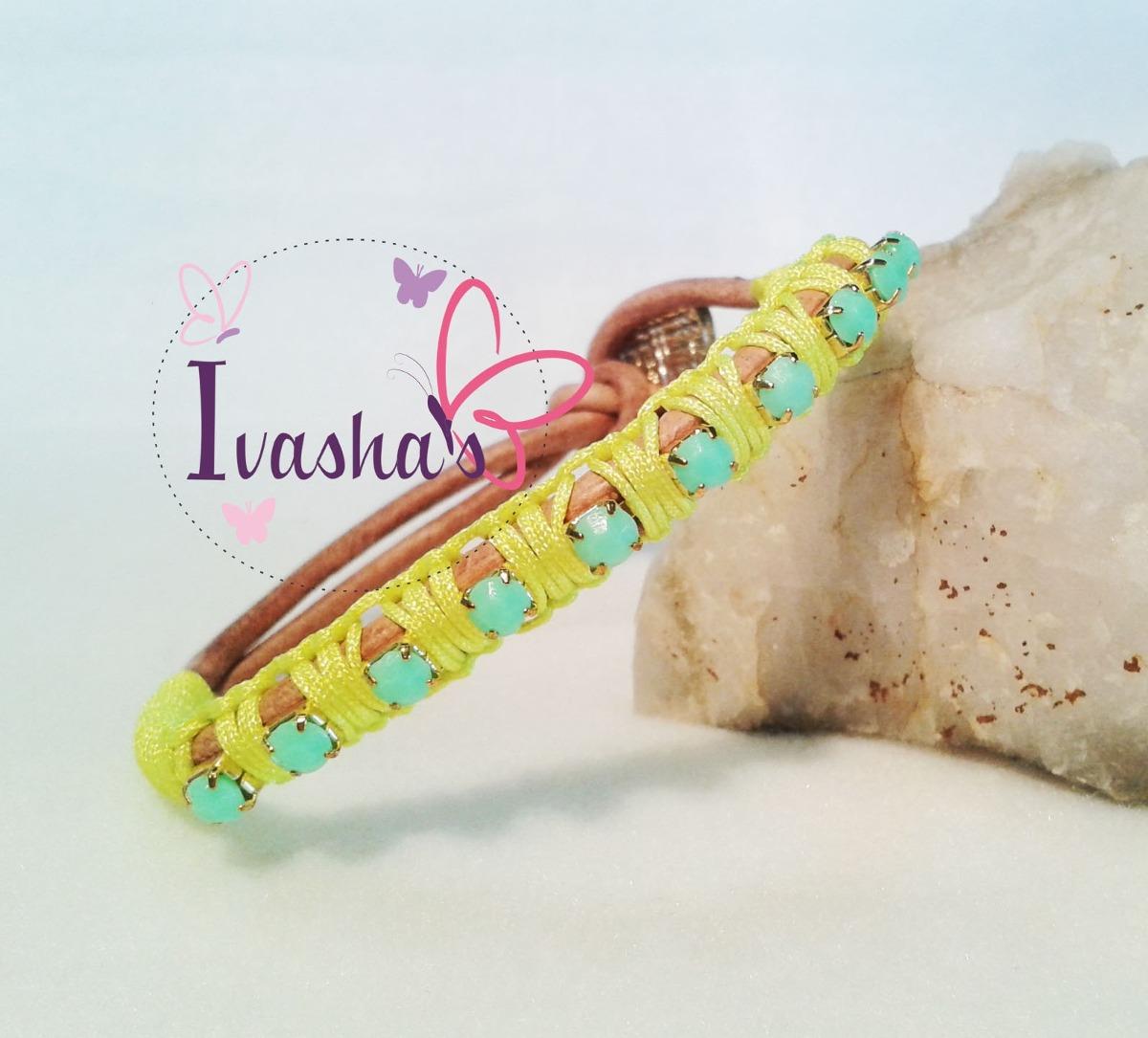 3c046ab13eb2 pulseras brazalete cuero bisutería accesorios de moda. Cargando zoom.