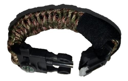 pulseras brazaletes supervivencia paracord/21,5cm/ 15-1