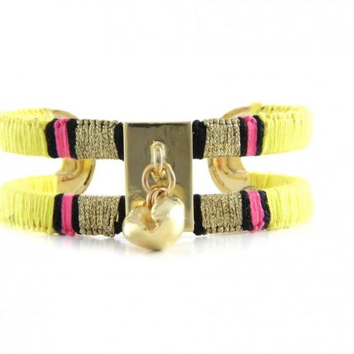 pulseras con piedras semi preciosas bañadas oro