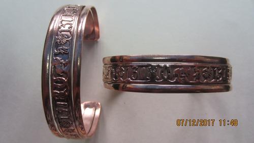 pulseras de buena suerte de cobre c0074