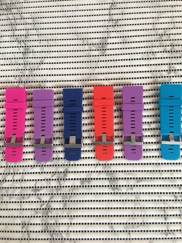 pulseras de colores para garmin vivoactive hr