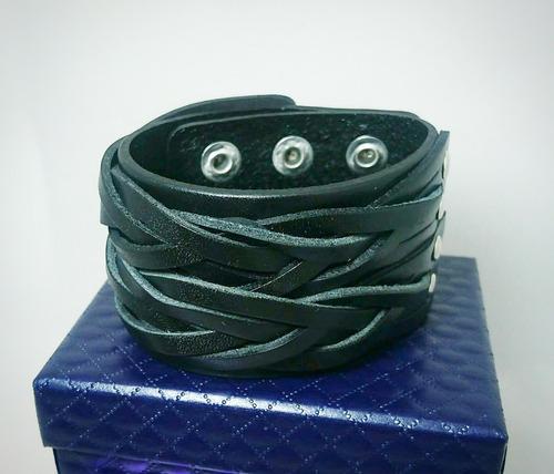 pulseras de cuero original para hombre