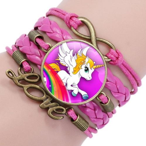 pulseras de dama mayoreo dije mujer moda unicornio ancla 15u