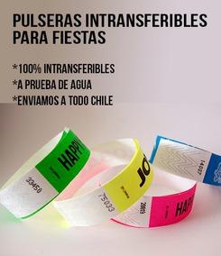 8b1fbccd2f64 Pulsera Identificacion Tyvek - Otras Categorías en Mercado Libre Chile