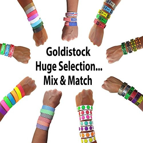 pulseras de identificación,goldistock pulseras tyvek de ..