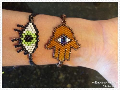 pulseras de mostacilla estilo miyuki