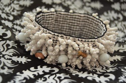 pulseras de mostacilla tipo marroquie fiesta