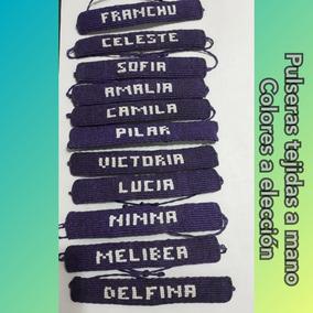 39455841d82c Pulseras De Nombre Y Dibujos Con Nudos Cavandoli