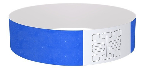 pulseras de papel eventos. lisas x 100 unidades