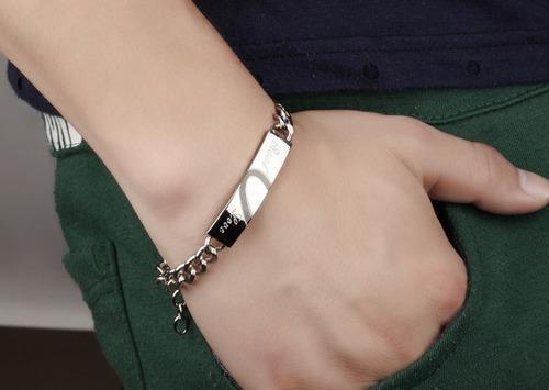pulseras de parejas  promesa amor compromiso corazon esclava