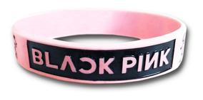bd85d8b26c68 Pulseras De Silicona - Black Pink - Kpop