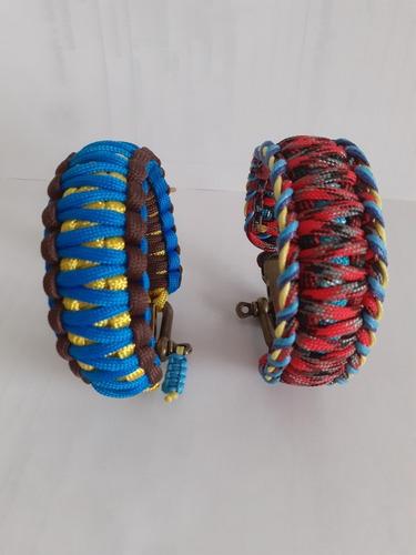 pulseras de supervivencia paracord brazalete.