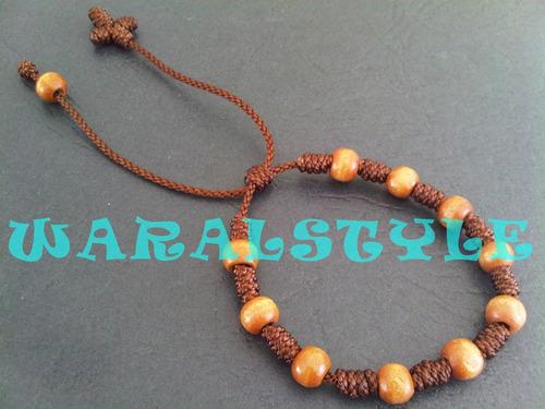 pulseras decenarios - rosarios (3 docenas) shakira nav11