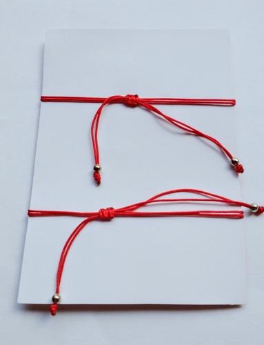 pulseras del hilo rojo para parejas regulables novios compar