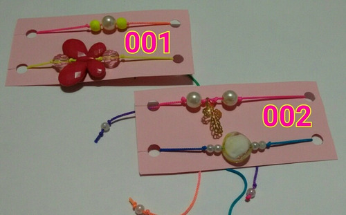 pulseras hilo, perlas, chino, moda,dama, juvenil, bisuteria