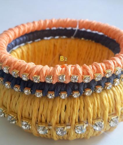 pulseras hindu de colores