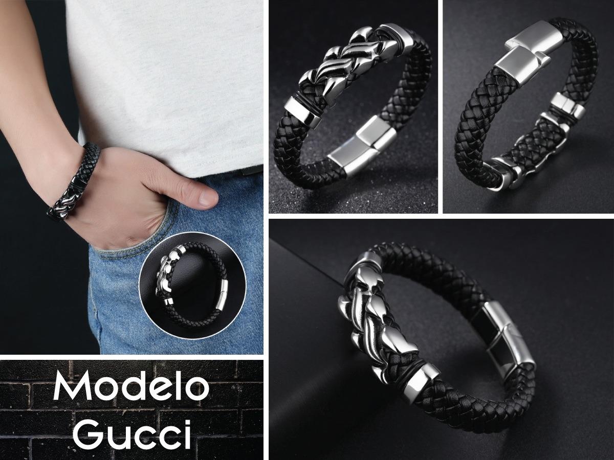 73d81669950e pulseras hombre caballero deluxe + titanio + envío gratis. Cargando zoom.