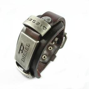 1bf88fbc5ed4 Pulseras Hombre Diesel Cuero Y Metal Primera Calidad - Relojes y ...