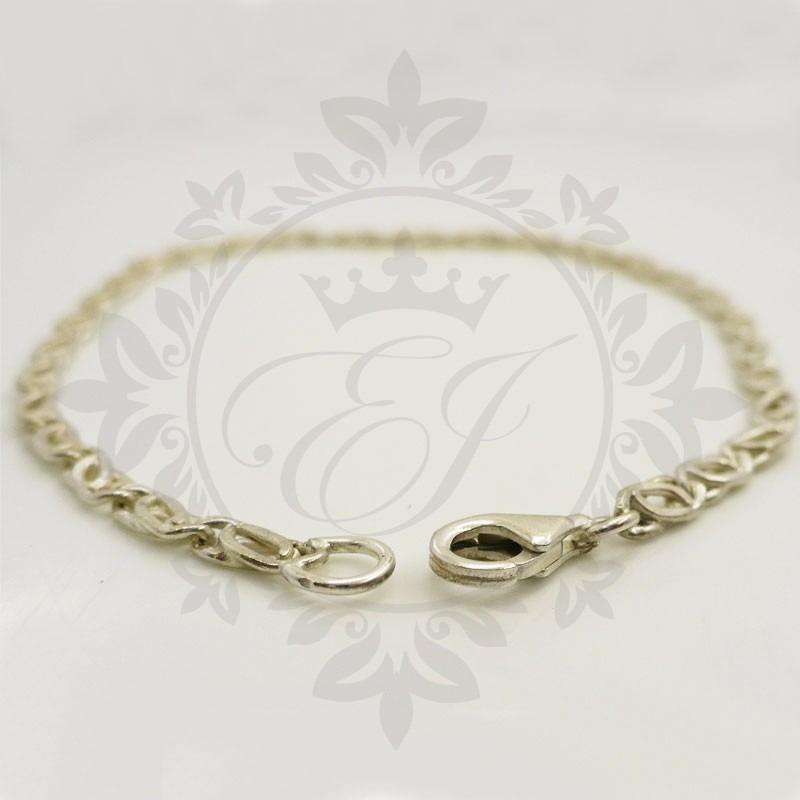 fa88a015d97f pulseras hombre o mujer en plata 925 espiga maciza regalo. Cargando zoom.