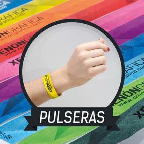 6e9d194ced5a Pulseras Impresas Tyvek Personalizadas Para Eventos