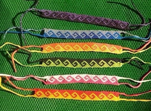 95c252e527ea Mla pulseras macrame hilo encerado modelos colores a eleccion jpg 625x457 Macrame  pulseras