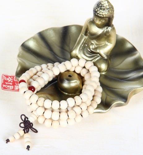 pulseras mala rosario budista zen tibetana madera rezo