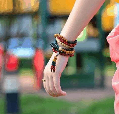 pulseras malas budistas rosario zen