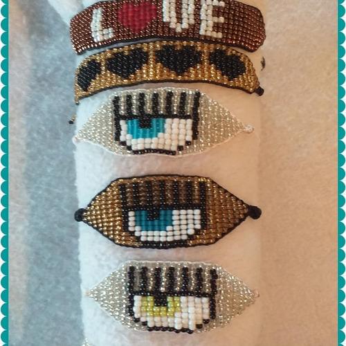 pulseras manilla de mostacilla miyuki