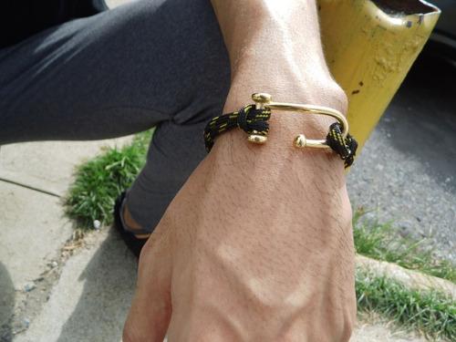 pulseras masculinas casual brazaletes de caballeros leliart
