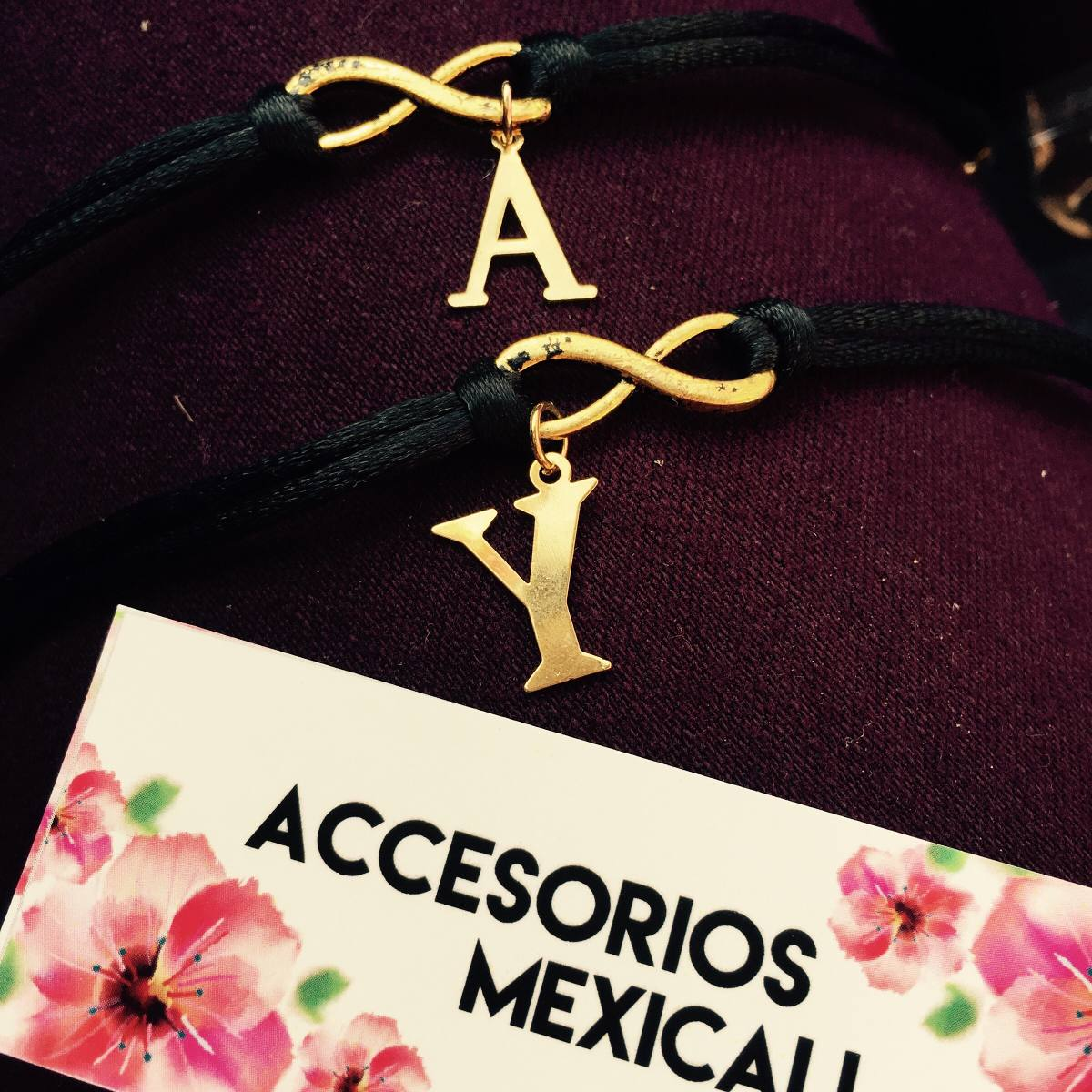 77ab06d3ee51 Pulseras Mejores Amigas Bff Iniciales Best Friend